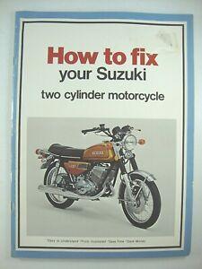 SUZUKI T125 GT185 S32-2 T10 X-5 X-6 T250 GT250 T305 TC305 T350 T500 Manual NOS!!