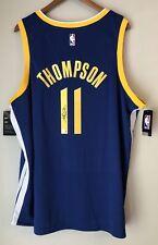 Klay Thompson Signed Warriors Autographed Nike NBA Auto Swingman Jersey FANATICS