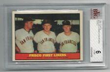 M.McCormick,J.Sanford,B.O'Dell 1961 Topps Cd, #383,BVGS EX-Mt 6,Frisco Liners