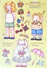 Mary Engelbreit Mag. Paper Doll, Goldilocks, Aug./Sept. 2008, Uncut