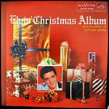 "ELVIS PRESLEY ""Christmas Album"" LP RCA Victor 5486 Rock EX"