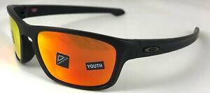 Oakley Sliver Stealth - Matte Black/Prizm Ruby Polarized Lens - Youth OO9408-06