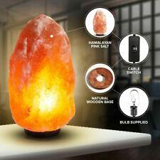 UK safety plug PINK or MIX Himalayan Salt Brazier Lamp WHITE 3 styles LARGE
