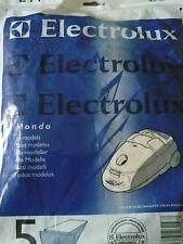 E44 ELECTROLUX 5 sacs pour aspirateur MONDO Tous modèles