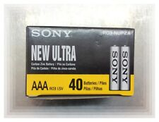 Sony New Ultra AAA Batteries (1box 40pcs)