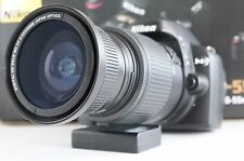 Wide Angle Macro Closeup Fisheye lens for Nikon 18-55 VR AFS as 50/35mm 52MM New