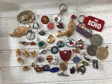 More details for job lot enamel badge, medals, coins etc