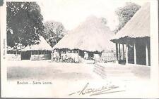 Boulam, Sierra Leone - undivided back postcard KEVII stamp c.1905