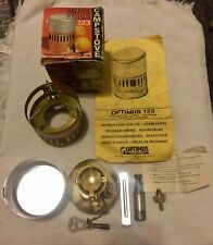 SVEA 123 Camp Stove Made In Sweden  Self Cleaning Model with Box & Instruction