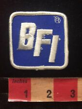 As-Is (stitching snag) BFI Advertising Patch TRASH / GARBAGE REMOVAL 84X5
