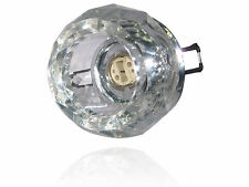FIRE RATED Crystal Downlight - Orbis Crystal (CYS026)- G9 Type Bulb