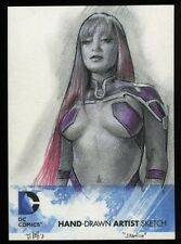 Cryptozic DC Comics The New 52 Artist's Sketch Card (STARFIRE) by CHARLES HALL