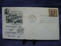 First Day Issue Cover 150th Anniv. Ohio Statehood 1803-1953 3/2/1953