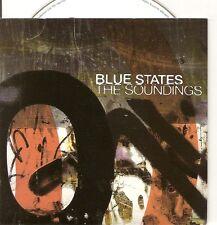BLUE STATES The Soundings PROMO CD ALBUM in cardslveeve