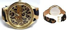 GUESS Animal Print 25th Anniversary Signature Womens Watch U85089L1