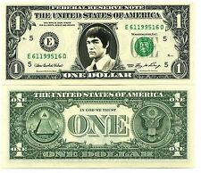 Bruce Lee Real Dollar US! Collector Karate Martial Arts Kung Fu Wing Chun