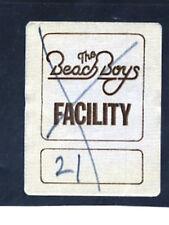 Beach Boys - 1979 - Rare facility satin backstage pass