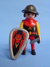 Playmobil dragon rouge chevalier arme & bouclier pour château Joute bataille Palace