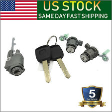 Ignition Switch Cylinder Left Right Door Lock with 2 Keys for 02-06 Honda CRV