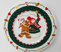 Christmas In The Kitchen Plate Midwest of Cannon Falls Jolly Follies