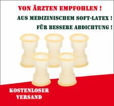 5 x Schleuse Mittel (Gelb) für Penimaster Pro