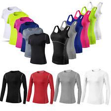 Mujeres Chaleco Para Entrenamiento Yoga Correr Capa Base Ajustado Sin mangas Prendas para el torso Camiseta Calce Entallado