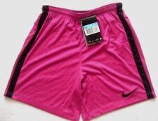 NIKE Jungen Sportshort Sporthose Gr. 10-12 Jahre Weinrot pink mit Streifen