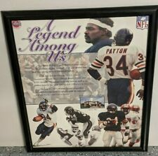 "CHICAGO BEARS WALTER PAYTON ""A LEGEND AMONG US"" 17""x 21"""
