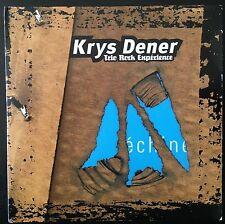 Krys Dener (Trio Rock Expérience) CD Echine - France (VG+/M)