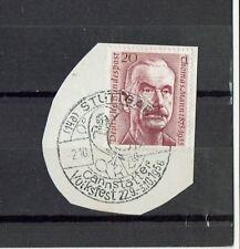"""alter Briefausschnitt mit Mich. Nr. 237 """" Stuttgart-Cannstatter Volksfest 1956 """""""