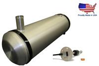 Dune Buggy 1//4 NPT 8x25 Center Filler Spun Aluminum Gas Tank Sandrail