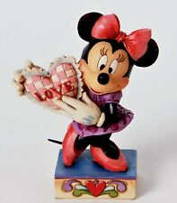 MY LOVE Minnie Mouse Figur Valentinstag 4026085 Jim Shore Disney Traditions