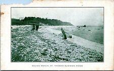 1912 Sound Beach St. Thomas Virgin Islands Postcard BR