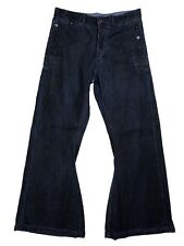 Ralph Lauren Black Label Mens Jeans Flare Size 32x32 Pants Vinatge
