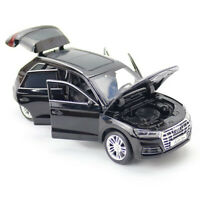 1:32 Audi Q5 SUV Model Car Metal Diecast Gift Toy Vehicle Light Sound Kids Black