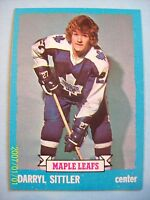 1973-74 Topps # 132 Darryl Sittler Vintage Card!  N/MT or Better!