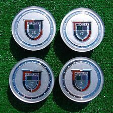 4 New Chrome Center Caps fit OEM Factory Cadillac DTS XTS STS CTS V SRX Wheels