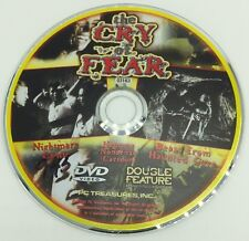 The Cry Of Fear DVD DISC ONLY Nightmare Castle Beast From Haunted Cave