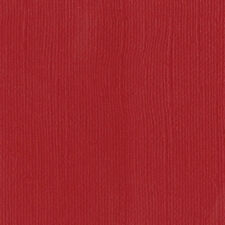 """American Crafts Bazzil Mono 12"""" x 12"""" Cardstock - Bazzil Red, 25 Sheet Pack"""