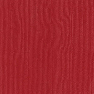 "American Crafts Bazzil Mono 12"" x 12"" Cardstock - Bazzil Red, 25 Sheet Pack"