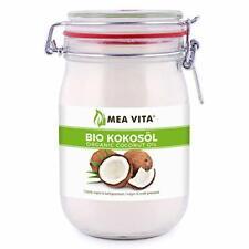 MeaVita Huile de Noix de Coco Biologique Extra Vierge 1 Litre 1 X 1000 ml