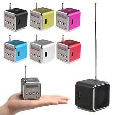 Mini Lautsprecher FM Radio USB TF-Slot Kartenleser Portable Musik Würfel MP3/4/