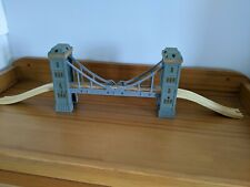 Bridge with Lights and Sounds for wooden train track - Brio Bigjigs Thomas