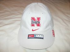 Nebraska Cornhuskers Nike Hat Cap Mens Medium 7 1/8 7 3/8 Huskers Flex Fit NCAA