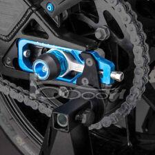 For Yamaha MT09 FZ-09 Rear Axle Spindle Chain Adjuster Blocks Adjustment Code