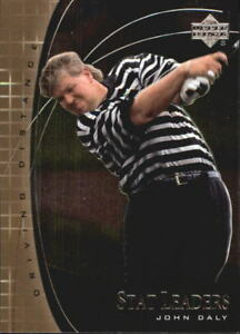 2001 Upper Deck Stat Leaders Golf Card Pick