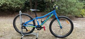 Scott Scale 24 Rigid Fork - 24in Wheel Kids Bike blue