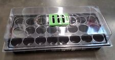 MINI GREENHOUSE 24 Cells PROPOGATION TRAY Kit, Nursery,Germination,Seed Starter