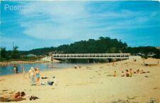 MI, Ludington, Michigan, Sauble River, Beach, L.L. Cook No. 25467