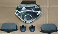 PN 44052-82A Complete Rear Chrome Brake Caliper Assembly Fits 1982-1986 New #373